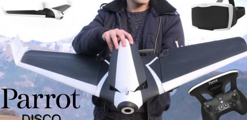 PARROT DISCO FPV un drone que vola a 80Km/h.